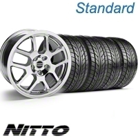 Chrome 2007 Style GT500 Wheel & NITTO Tire Kit - 18x9.5 (10-12)