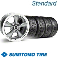 Anthracite Bullitt Wheel & Sumitomo Tire Kit - 18x9 (11-12)
