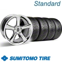Chrome GT Premium Wheel & Sumitomo Tire Kit - 18x9 (11-12)