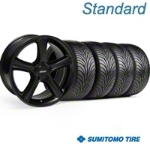 GT Premium Black Wheel & Sumitomo Tire Kit - 18x9 (05-14) - American Muscle Wheels 28210||63008||KIT