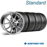 Chrome FR500 Wheel & Sumitomo Tire Kit - 18x9 (99-04) - AmericanMuscle Wheels 28273||63016
