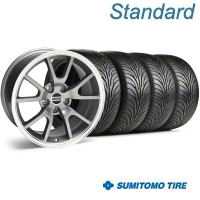FR500 Anthracite Wheel & Sumitomo Tire Kit - 18x9 (99-04) - American Muscle Wheels 28274||63016