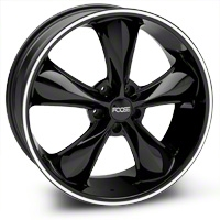 Black Foose Legend Wheel - 20x8.5 (05-14 All, Excluding GT500) - Foose F104208565