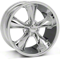 Chrome Foose Legend Wheel - 18x9.5 (05-09 GT, V6) - Foose F105189566+34