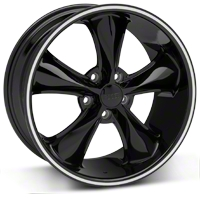 Foose Legend Black Wheel - 18x8.5 (05-10 GT, V6) - Foose F104188566+34