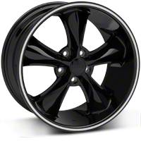 Black Foose Legend Wheel - 18x9.5 (05-09 GT, V6) - Foose F104189566+34