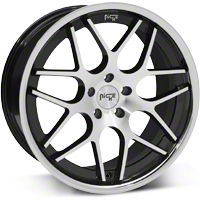 Black Machined Niche Mugello Wheel - 20x10 (05-14 All) - Niche M884200065+40