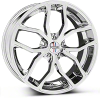 Foose Outcast Chrome Wheel - 20x8.5 (05-14 All) - Foose F148208566+35�