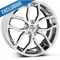 Chrome Foose Outcast Wheel - 20x8.5 (05-14 All) - Foose F148208566+35�