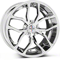 Foose Outcast Chrome Wheel - 20x10 (05-14 All) - Foose F148200066+40