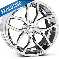 Chrome Foose Outcast Wheel - 20x10 (05-14 All) - Foose F148200066+40