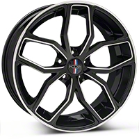 Foose Outcast Black Machined Wheel - 20x8.5 (05-14 All) - Foose F150208566+35�