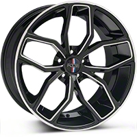 Foose Outcast Black Machined Wheel - 20x10 (05-14 All) - Foose F150200066+40