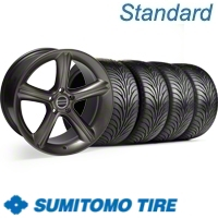 Hypercoated 2010 Style GT Premium Wheel & Sumitomo Tire Kit - 18x9 (99-04)