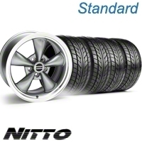 Anthracite Bullitt Wheel & NITTO Tire Kit - 20x8.5 (10-12)