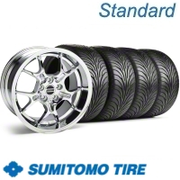 Chrome GT4 Wheel & Sumitomo Tire Kit - 18x9 (11-12)