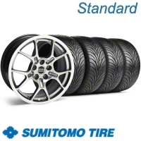 Hypercoated GT4 Wheel & Sumitomo Tire Kit - 18x9 (11-12)