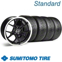 Black GT4 Wheel & Sumitomo Tire Kit - 18x9 (11-12)