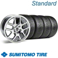 Chrome 2007 Style GT500 Wheel & Sumitomo Tire Kit - 18x9.5 (11-12)