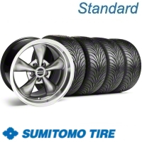 Hypercoated Bullitt Wheel & Sumitomo Tire Kit - 17x9 (94-98 All)