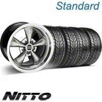 Hypercoated Bullitt Wheel & NITTO Tire Kit - 17x9 (94-98 All)