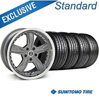 Shelby Razor Gunmetal Wheel & Sumitomo Tire Kit - 20x9 (05-14) - Shelby 63024||KIT 27224