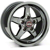 Race Star Dark Star Drag Wheel & M&H Tire Kit - 17x4.5/15x10 (05-14 All) - Race Star 32014||76505||76507||KIT 32013G94