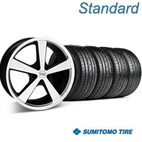 Nova Black Machined Wheel & Sumitomo Tire Kit - 20x8.5 (05-14 GT, V6) - American Racing 63024||KIT 27212