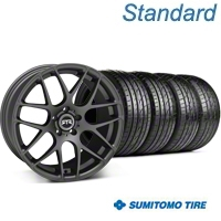 RTR Charcoal Wheel & Sumitomo Tire Kit - 19x9.5 (05-14 All) - RTR 63037||KIT 11063