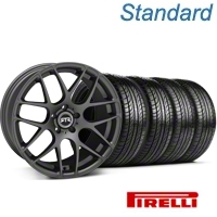 RTR Charcoal Wheel & Pirelli Tire Kit - 19x9.5 (05-14 All) - RTR KIT 11063