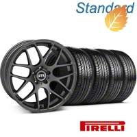 RTR Charcoal Wheel & Pirelli Tire Kit - 19x9.5 (05-14 All) - RTR 63102||KIT 11063