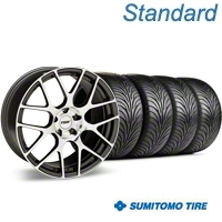 TSW Nurburgring Gunmetal Wheel & Sumitomo Tire Kit - 18x9 (05-14 All) - TSW 63008||KIT 27353G05