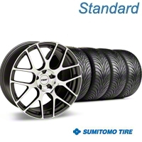 TSW Nurburgring Gunmetal Wheel & Sumitomo Tire Kit - 18x9 (94-98 All) - TSW 63005||KIT 27353G94