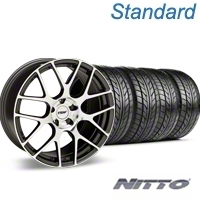 Gunmetal TSW Nurburgring Wheel & NITTO Tire Kit - 18x9 (94-98 All) - TSW KIT 27353G94||76002