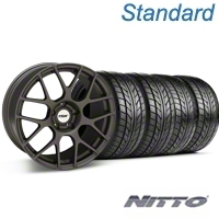 TSW Nurburgring Matte Gunmetal Wheel & NITTO Tire Kit - 18x8 (99-04 All) - TSW 76002||KIT 27350G94