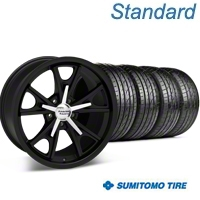 Daytona Matte Black Wheel & Sumitomo Tire Kit - 20x8.5 (05-14 GT, V6) - American Racing 63024||KIT 27218