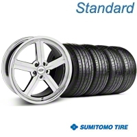 Chrome Huntington Bolsa Wheel & Sumitomo Tire Kit - 20x9 (05-14 GT, V6) - Huntington KIT 35202||63024