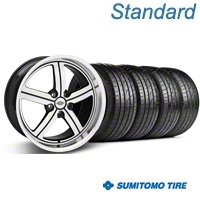 Machined Huntington Bolsa Wheel & Sumitomo Tire Kit - 20x9 (05-14 GT, V6) - Huntington KIT 35200||63024