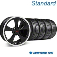 Matte Black Bravado Americana II Wheel & Sumitomo Tire Kit - 20x9.5 (05-14 GT, V6) - Konig KIT 35107||63025