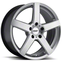 Hyper Silver TSW Rivage Wheel - 19x8 (05-14 All) - TSW 1980RIV305114S76