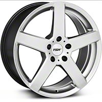 Hyper Silver TSW Rivage Wheel - 18x8 (94-04 All) - TSW 1880RIV205114S76