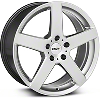 Hyper Silver TSW Rivage Wheel - 18x8 (05-14 All) - TSW 1880RIV405114S76