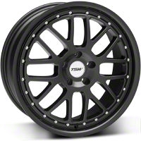 TSW Valencia Matte Black Wheel - 19x8 (05-14 All) - TSW 1980VAL405114M76