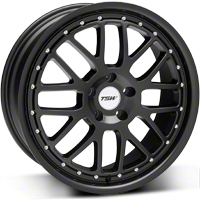 Matte Black TSW Valencia Wheel - 19x8 (05-14 All) - TSW 1980VAL405114M76