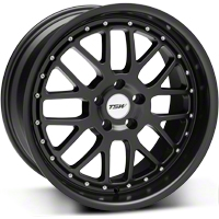 Matte Black TSW Valencia Wheel - 19x9.5 (05-14 All) - TSW 1995VAL405114M76