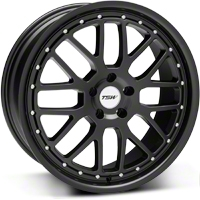TSW Valencia Matte Black Wheel - 20x8.5 (05-14 All) - TSW 2085VAL405114M76