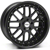 TSW Valencia Matte Black Wheel - 20x10 (05-14 All) - TSW 2010VAL405114M76