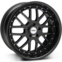Matte Black TSW Valencia Wheel - 20x10 (05-14 All) - TSW 2010VAL405114M76