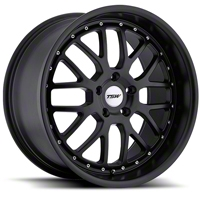 Matte Black TSW Valencia Wheel - 18x8 (94-04 All) - TSW 1880VAL205114M76