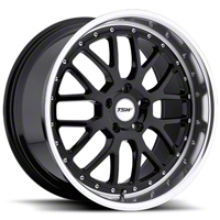 Black TSW Valencia Wheel - 19x8 (05-14 All) - TSW 1980VAL405114B76